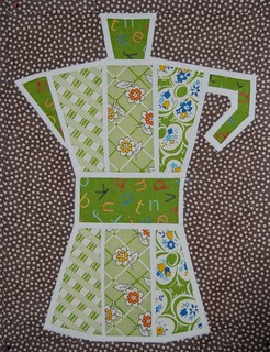 Coffee pot for Penny (sewtakeahike) | by Lynne @ Lilys Quilts