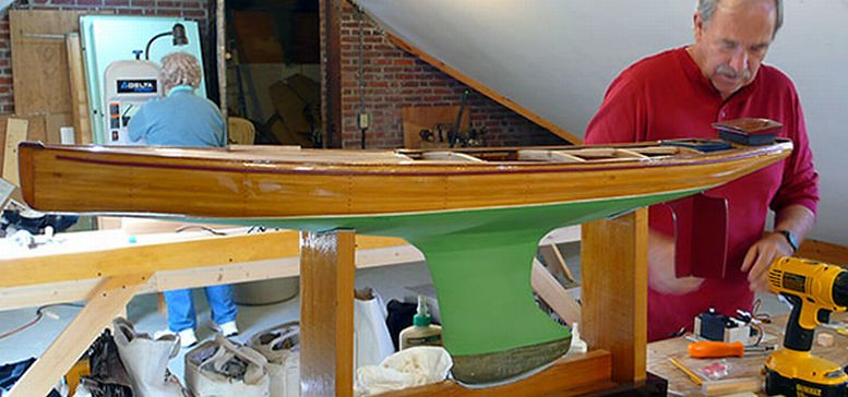 Building a Marblehead M Class pond yacht The Wooden Boat S… | Flickr