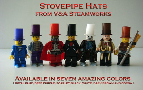 New Stovepipe Hats for sale NOW! | by V&A Steamworks - Guy HImber