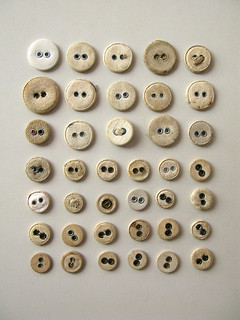 Old cotton buttons | by Anja Brunt