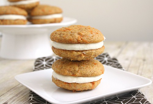 Carrot Cake Whoopie Pies | by Tracey's Culinary Adventures