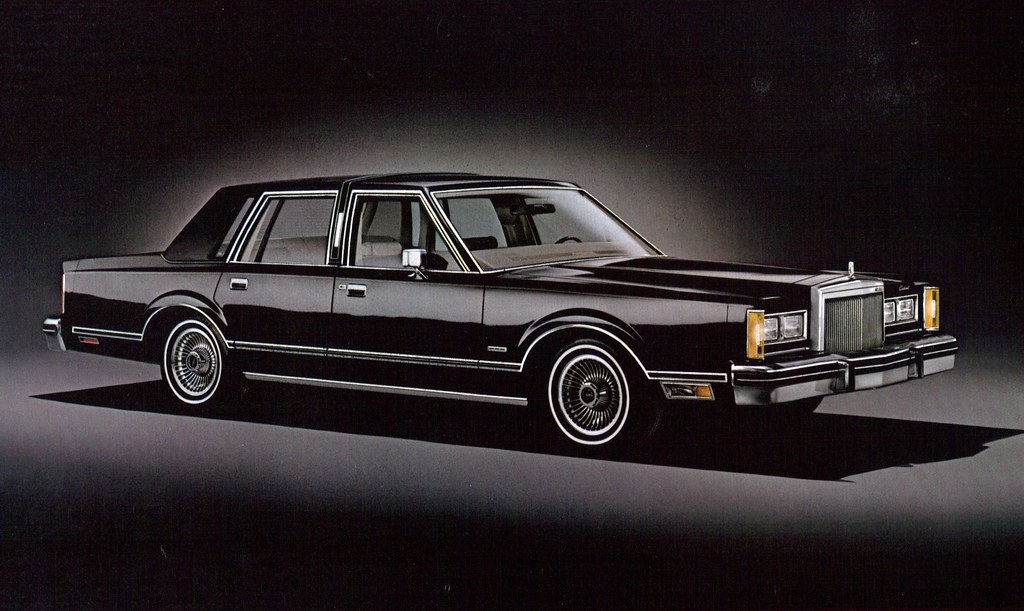 1980 Lincoln Continental Town Car 4 Door Sedan Coconv Flickr