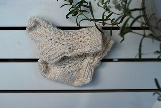 Newborn lace sock | by that blonde girl