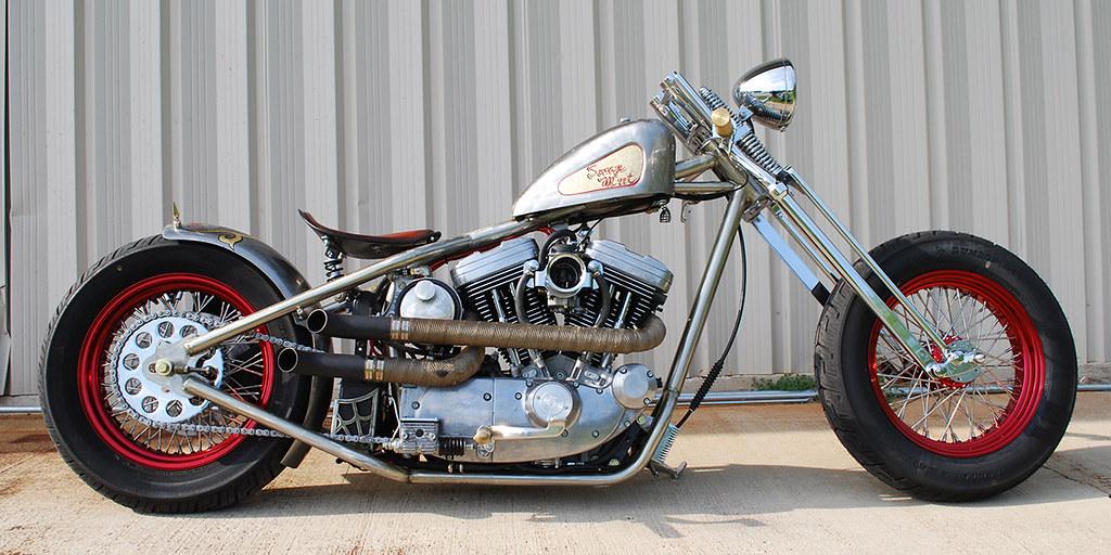 Hardtail Sportster Bobber for Sale - right | Rex Bullington | Flickr