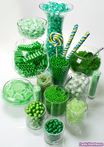 Green Candy Buffet | by candywarehouse