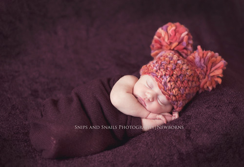 pompoms and purple | by Snips and Snails Photography ::Nicole Pellegrino::