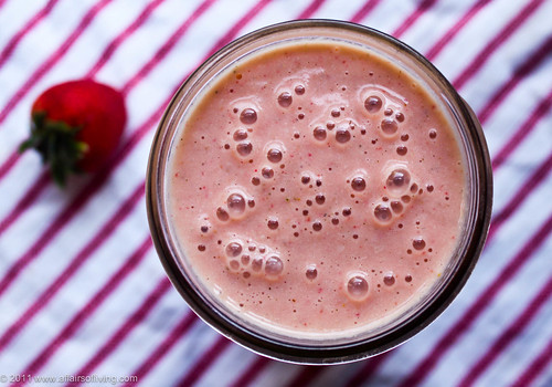 Strawberry Rhubarb Mango Smoothie | by Kim | Affairs of Living