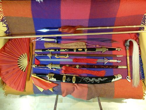 Arsenal de armas tradicionales chinas