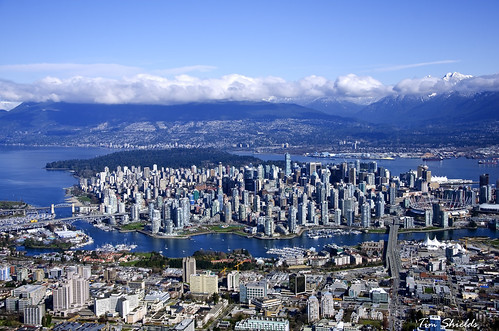 Vancouver - City under the mountains | by Tim Shields BC