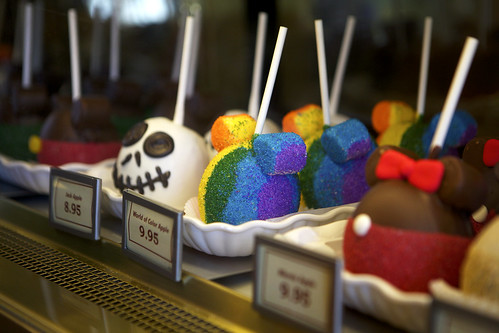 Disnified Candy Apples | by Arielle.Nadel