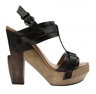 AllSaints SS2011 rosalina wood heel | by Outi Les Pyy / OutsaPop Trashion DIY fashion