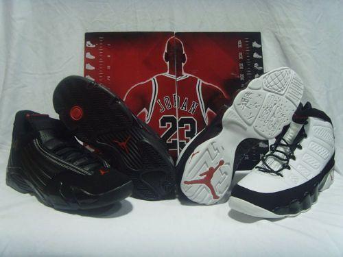 low priced 0b38a 80ace jordan9 and Jordan 14 cdp package   jordan9 and Jordan 14 cd ...