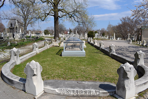 Grave of A. S. Abell | by Monument City