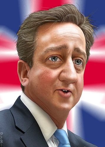 David Cameron - Caricature | by DonkeyHotey