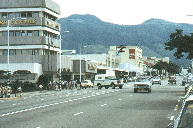 Umtali Rhodesia now Mutare Zimbabwe Main Street CAB Flickr