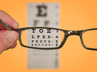 Vision Of Eyechart With Glasses | by kenteegardin