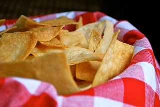 homemade tortilla chips | by Alejandra of Always Order Dessert