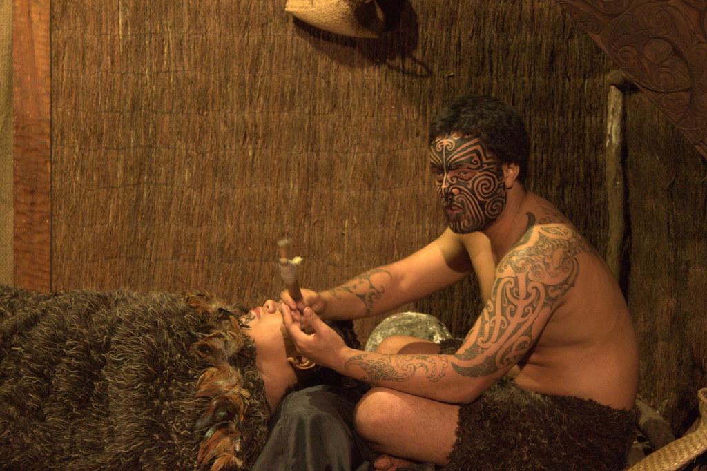 Tattooing, Maori style