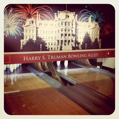 Harry S Truman Bowling Alley The White House Melanie