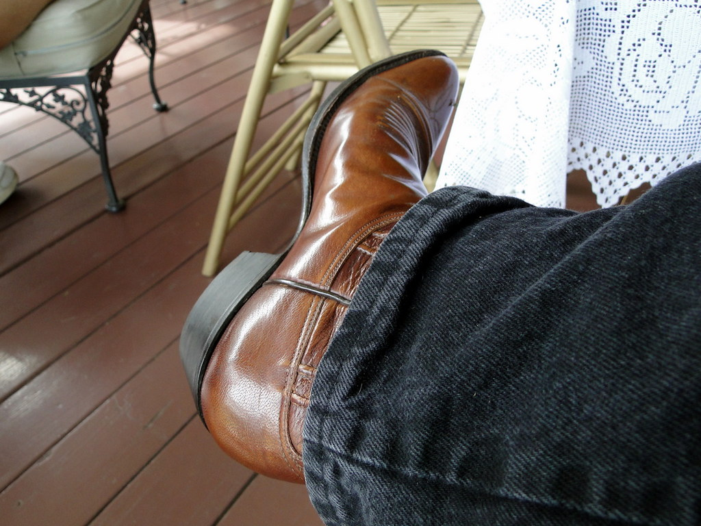 boots Vintage lucchese
