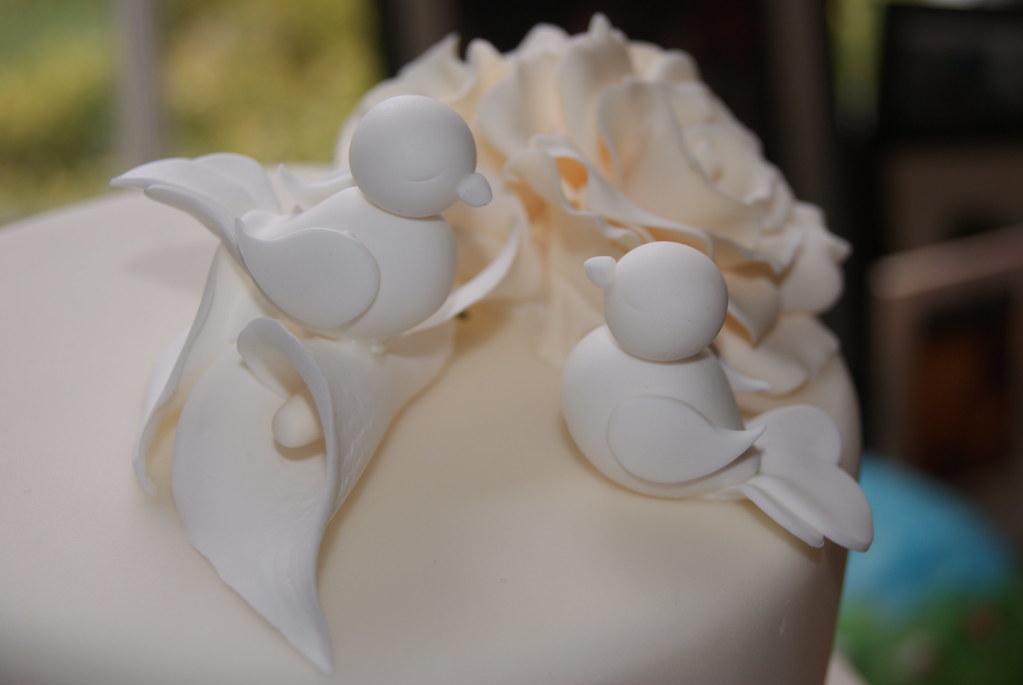 White Doves - Wedding Cake Topper | I absolutely loved makin… | Flickr