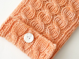 kindle sleeve apricot 3 | by haramisdesigns