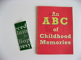 ABC of Childhood and Abecedarium for Bibliopoesy 2007 | by rejectamenta