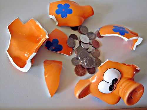 Broken Piggy Bank | by Images_of_Money