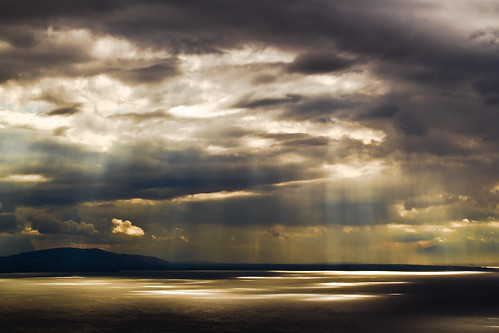 Sun vs Clouds - Lake Geneva, Switzerland | by philippe julien