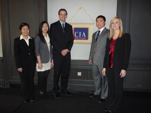 CFA competition February 26, 2011 | by Eagle Investment Group