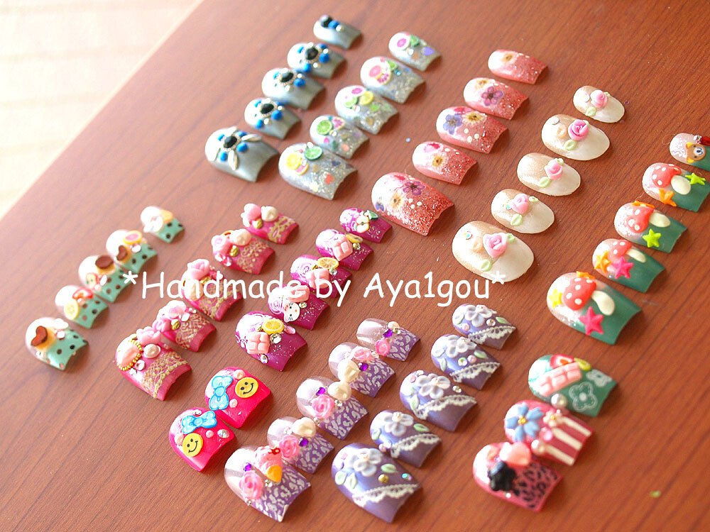The latest Japanese nail art collection! 2011 spring | Flickr