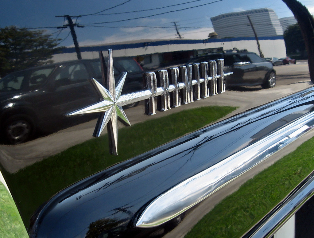 1957 Lincoln Premiere Convertible Fender Badge Ate Up With Motor