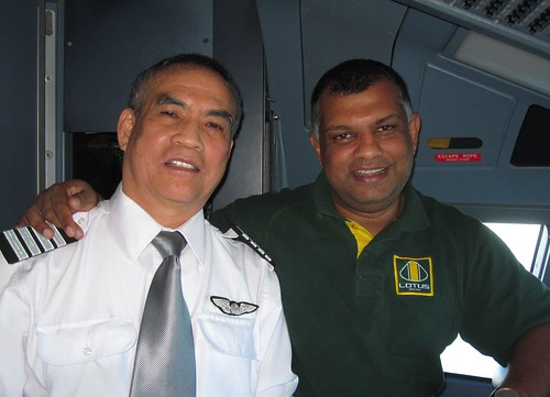 With Tony Fernandes | by khlim777