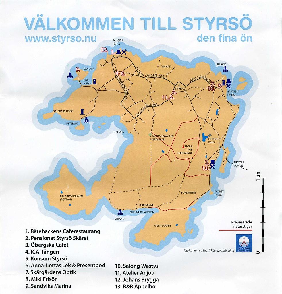 styrsö karta Karta Styrsö   styrsobk   Flickr styrsö karta