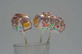 Louis Vitton Cake Pops | by Sweet Lauren Cakes
