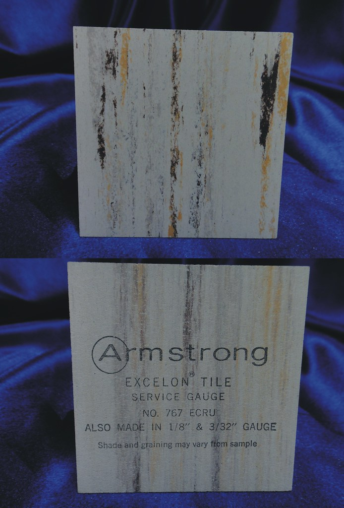 Armstrong Excelon Vinyl Asbestos Floor Tile Sample 767 Flickr