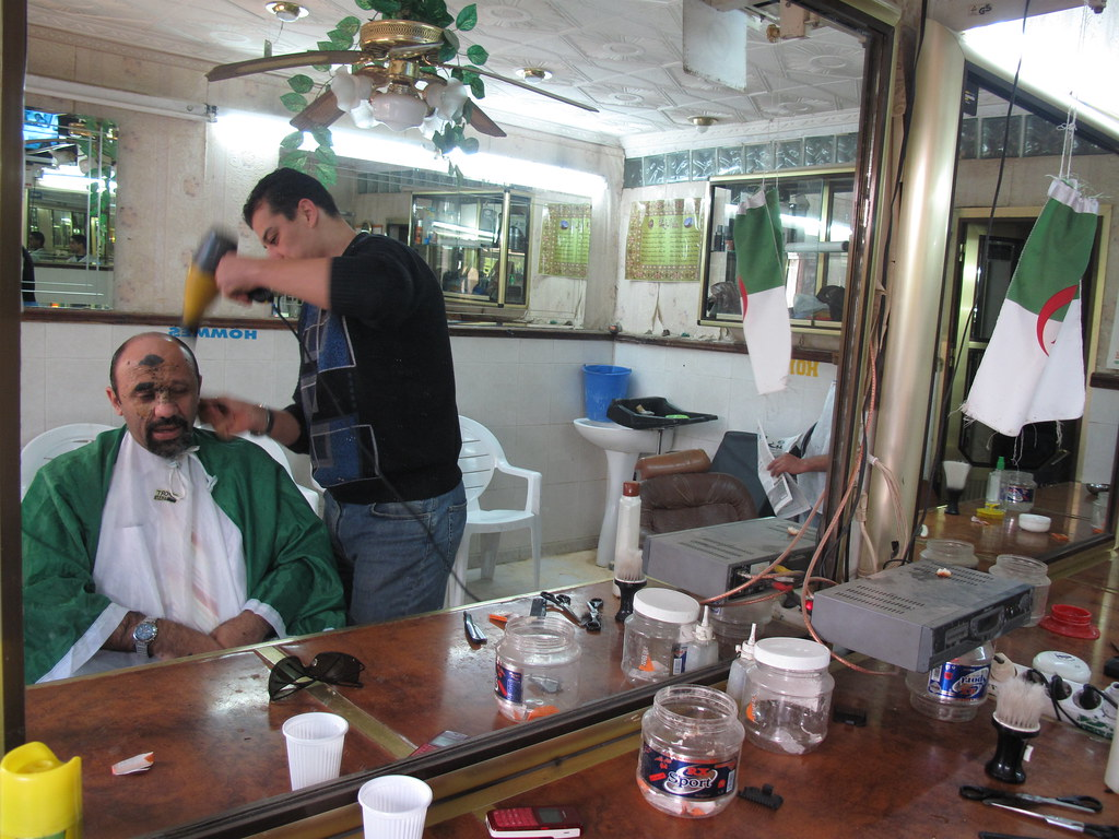 chez WALID le coiffeur | blidarose | Flickr