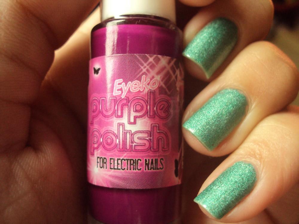 Purple Polish - Eyeko   Esse veio comigo do esmaltche. Não r…   Flickr