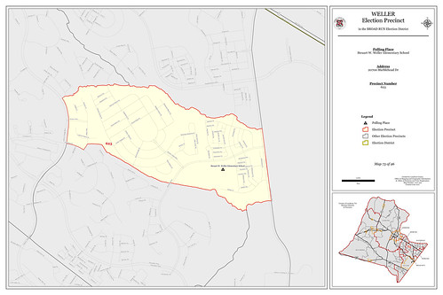 Precinct 623 - Weller | by Office of Mapping, County of Loudoun