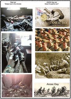 ANZAC glorify war | by ynot2006
