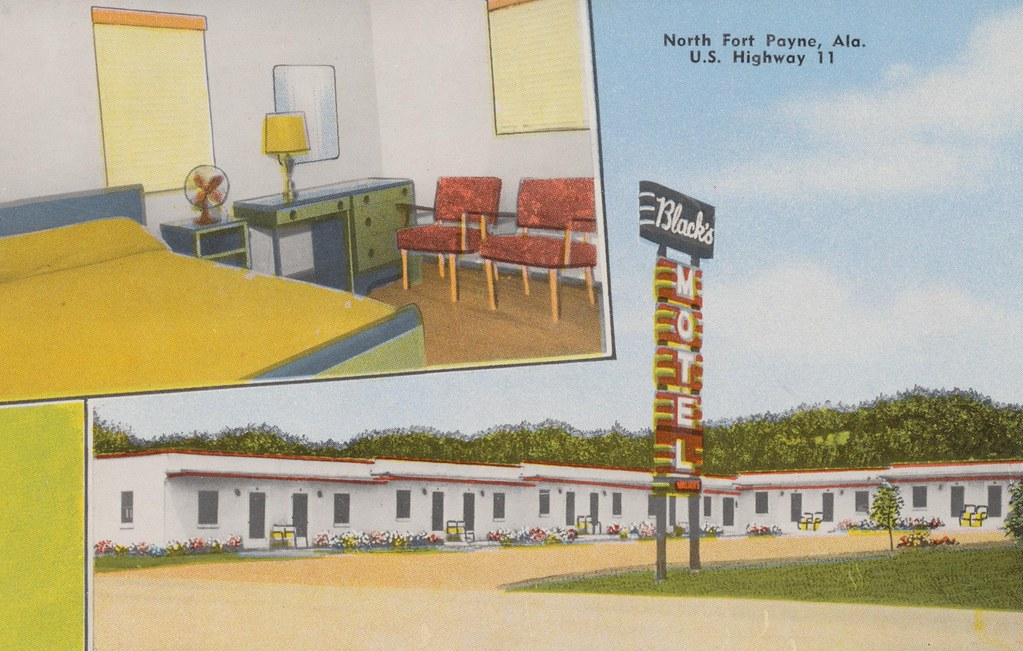 Black's Motel - North Fort Payne, Alabama