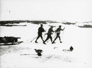 Men walking on ice | by The National Archives UK