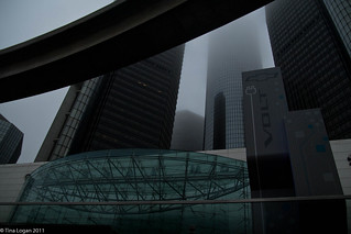 Ren Cen in the Fog | by tinawebanalyst