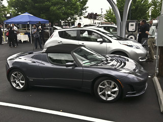Tesla Motors electric car | by Portland Development Commission