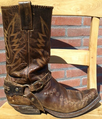 Used Cowboy Boots - Cr Boot
