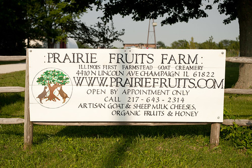 Prairie Fruits Farm Sign | by goingslowly