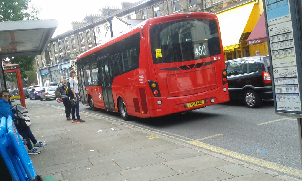south bus arriva london south sls10 lk66anx route 450 to west cr flickr
