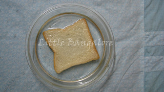 Bread slice soaked in water | by Little Bangalore
