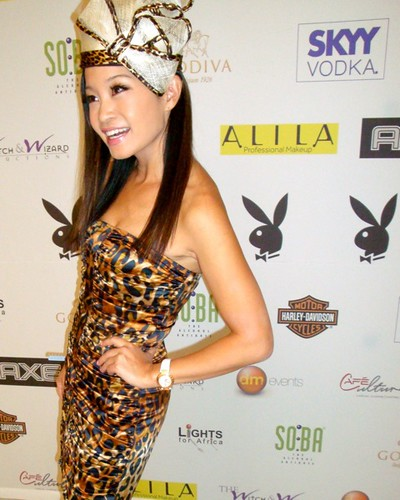 jen su at the playboy magazine sa official launch jen su a flickr. Black Bedroom Furniture Sets. Home Design Ideas