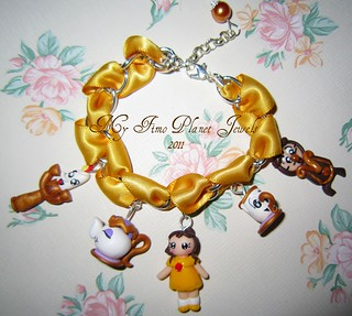 Bracciale Bella e personaggi | by My Fimo Planet